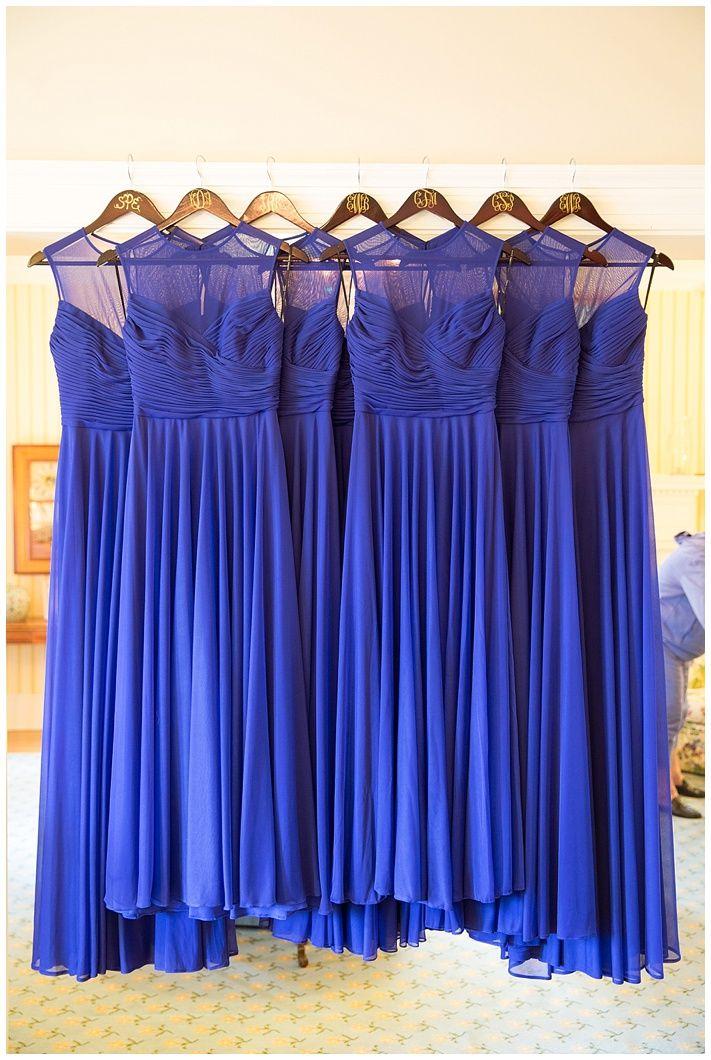 Long Royal Blue Bridesmaids dresses ...