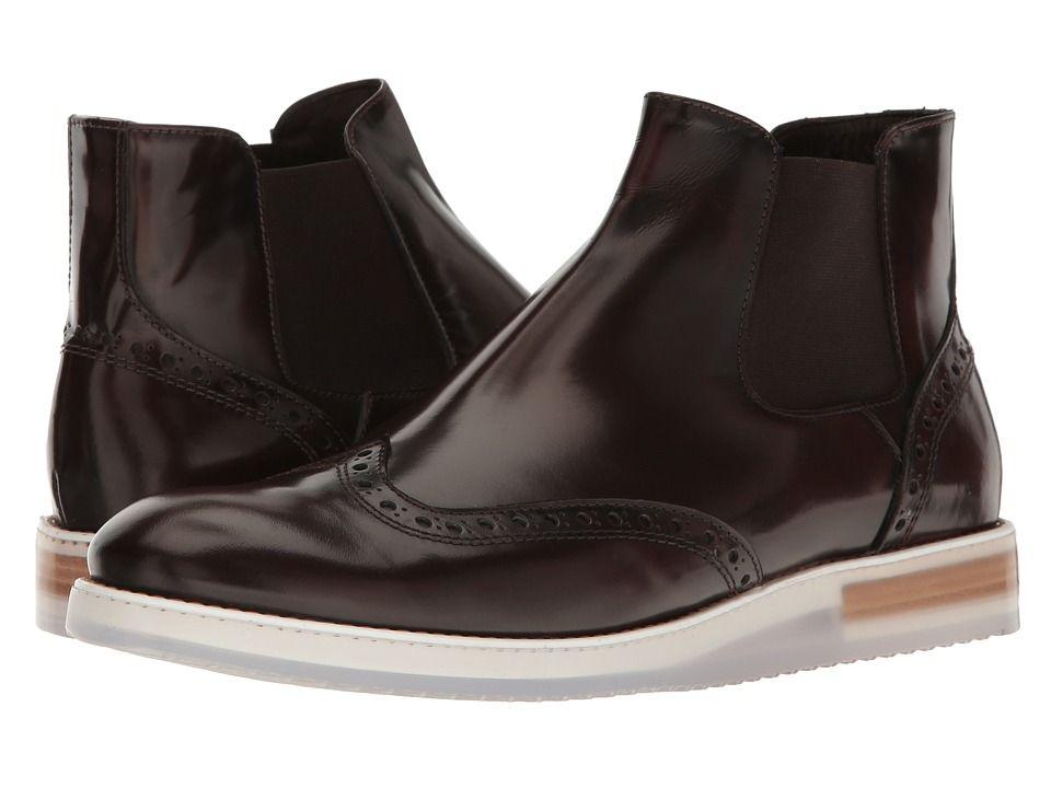 BUGATCHI Bari Chelsey Boot Men's Boots Testa Di Moro
