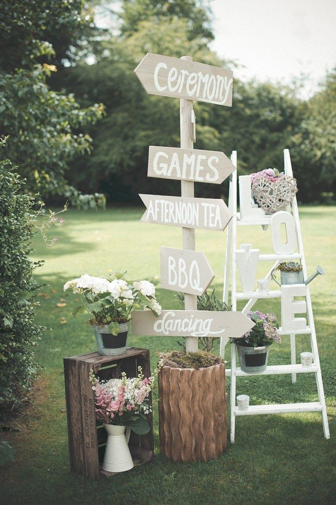 Garden wedding reception decor  Garden Party Decor for Your Best Day Ever  Wedding and Weddings