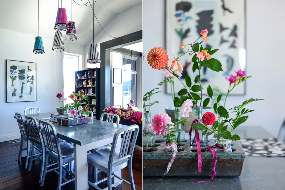 A Perfectly Imperfect, Colorful New Zealand Home New