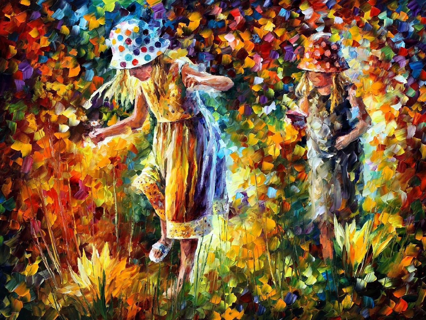Bright and Positive Paintings by Leonid Afremov | Palette knife ...