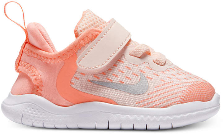 newest b582d 14786 Nike Toddler Girls' Free Run 2018 Running Sneakers from ...