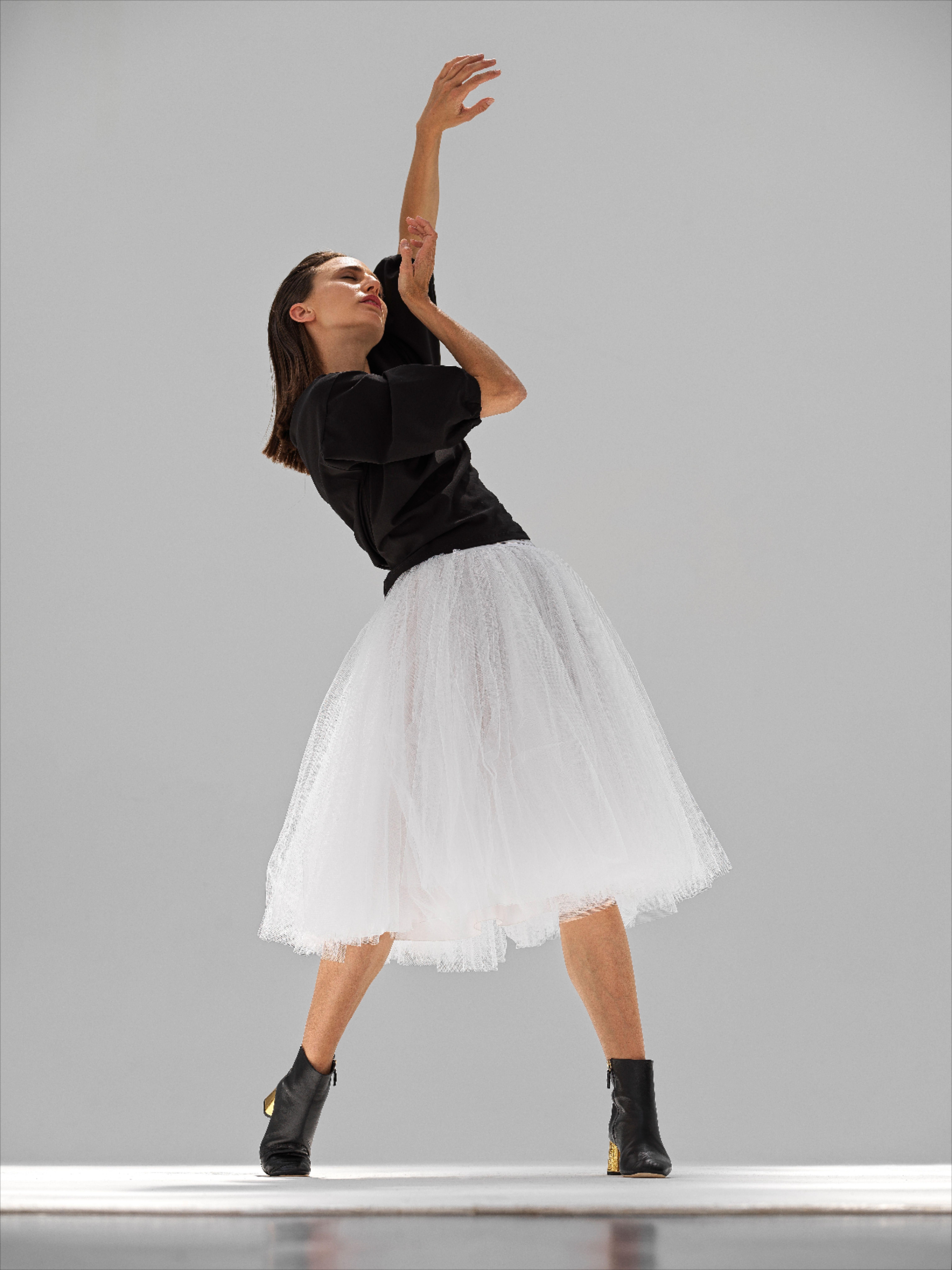 Inspiré de l'iconique tutu Repetto, cette jupe est la