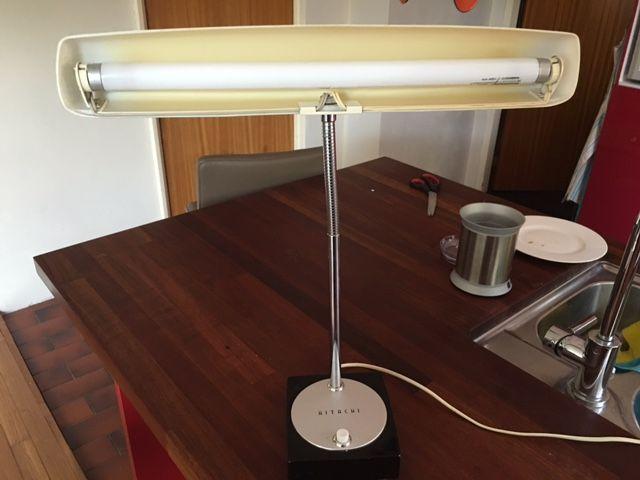 Online veilinghuis Catawiki: Hitachi design bureaulamp