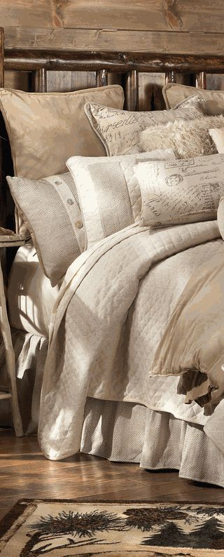Rustic Bedding Set Log Homes And Cabin Bedding Rusticbedding Cabinbedding Rustic Country Farmhouse Rustic Bedroom Cabin Bedroom Home