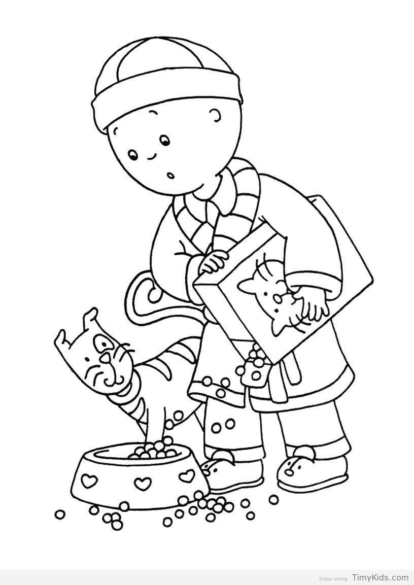 http://timykids.com/caillou-coloring-page.html   Colorings ...