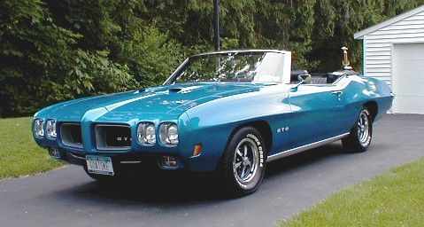 Image result for 1970 gto convertible
