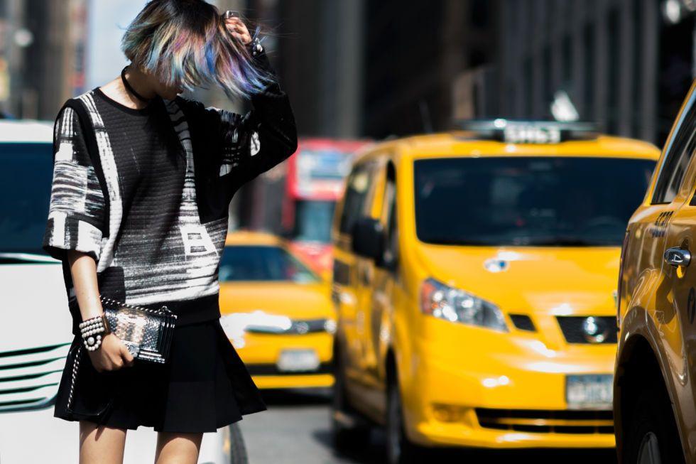 Street style at #NYFW September 2015