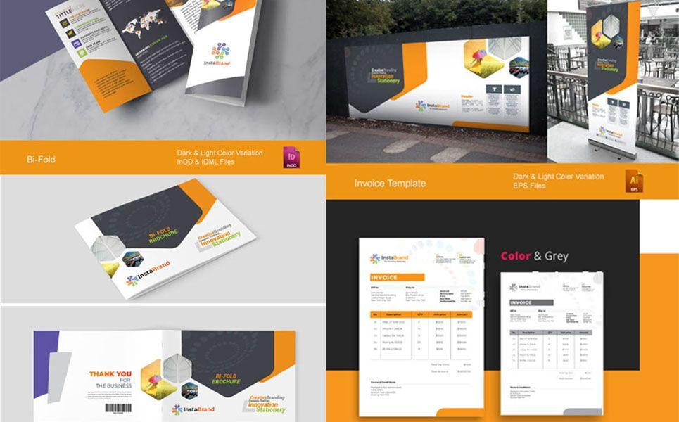 Creative Branding Identity Stationery Pack Bundle Ad Identity Branding Creative Bundle Creative Branding Identity Creative Branding Branding Template