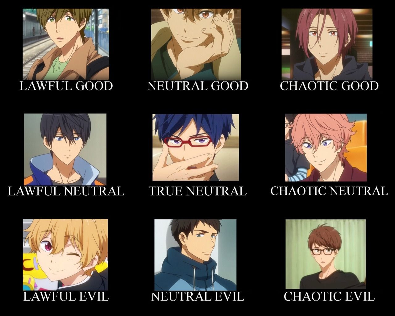 Free! Dive to the Future meme Free anime, Free iwatobi