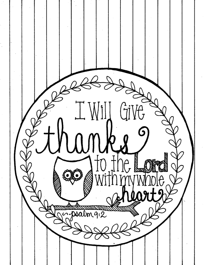 Psalm 9 2 coloring page pdf google drive