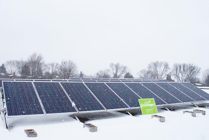 Brant Avenue Public School 10kw Custom Solar Power System Solar Power System Roof Solar Panel Solar