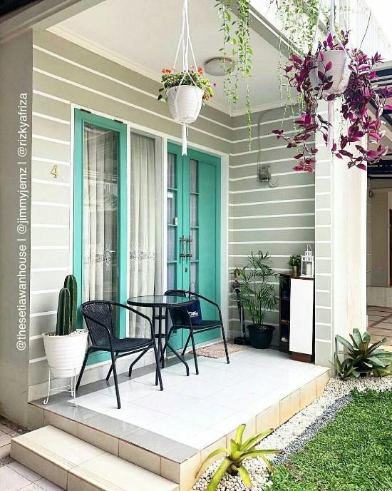 65 Foto Inspiratif Model Teras Rumah Minimalis Masa Kini Desain