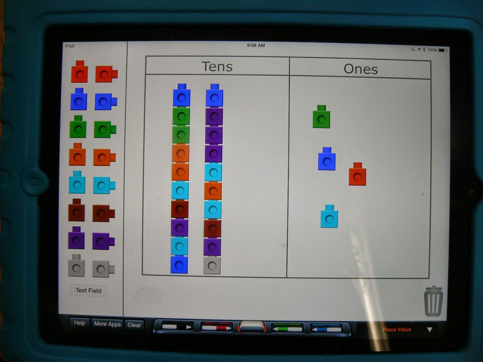 Math Games Using Cubes On The Ipad