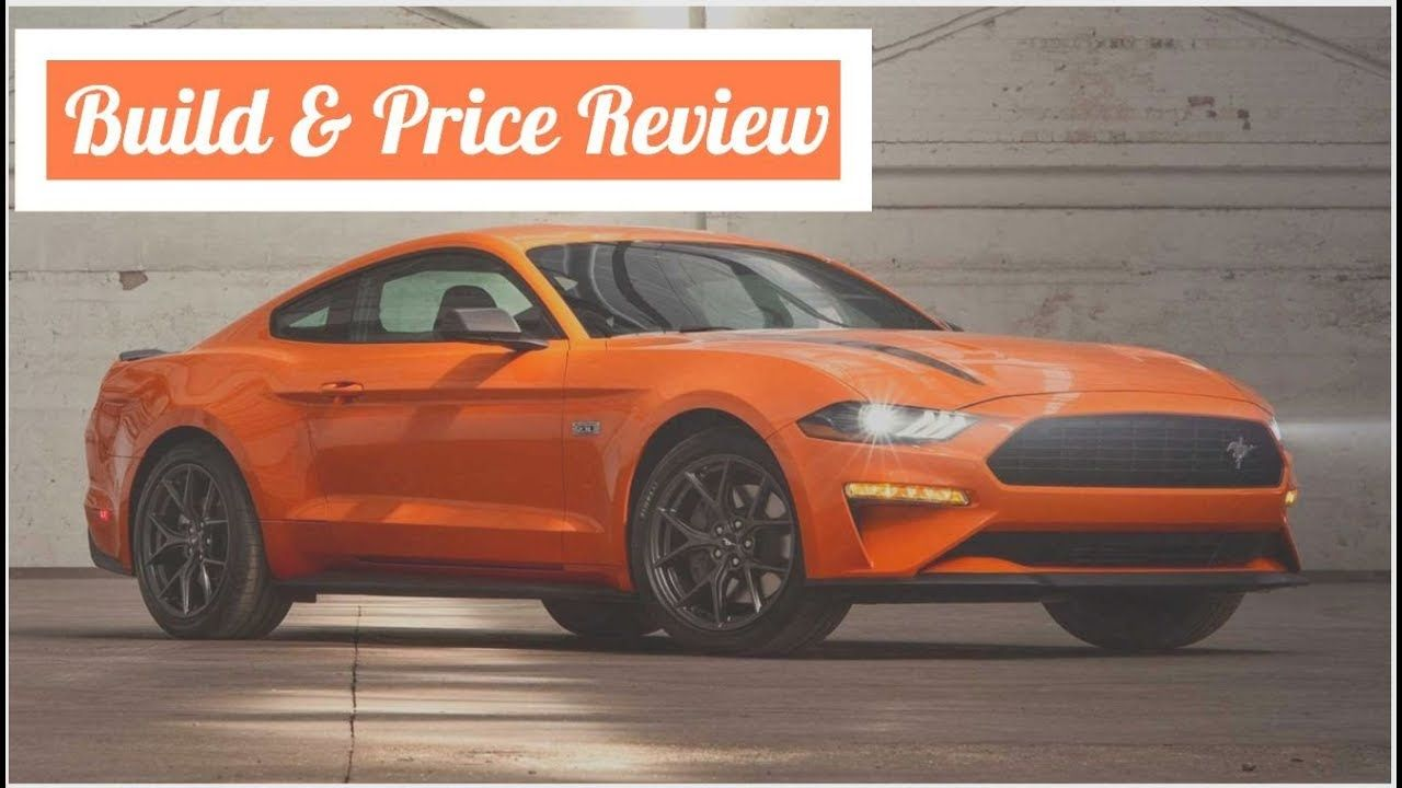 2020 Ford Mustang Ecoboost Premium Fastback With High Performance