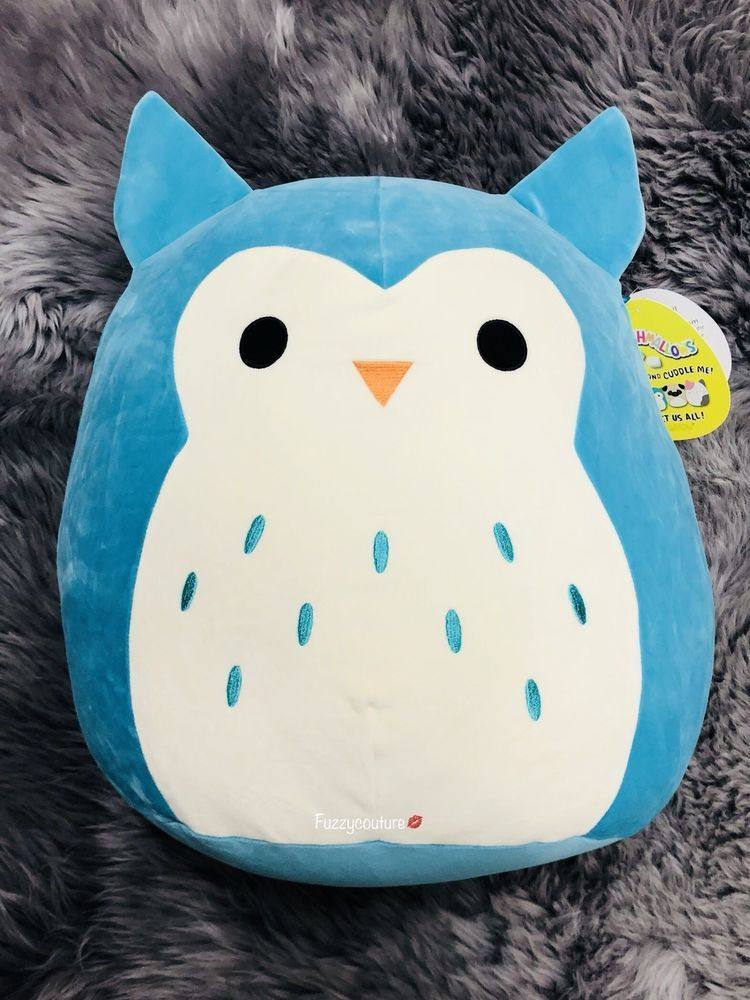 10 Tall in Blue Crystal the Unicorn Squishmallow Mini Stuffed Animal for Girls Cute Small Plush Pillow