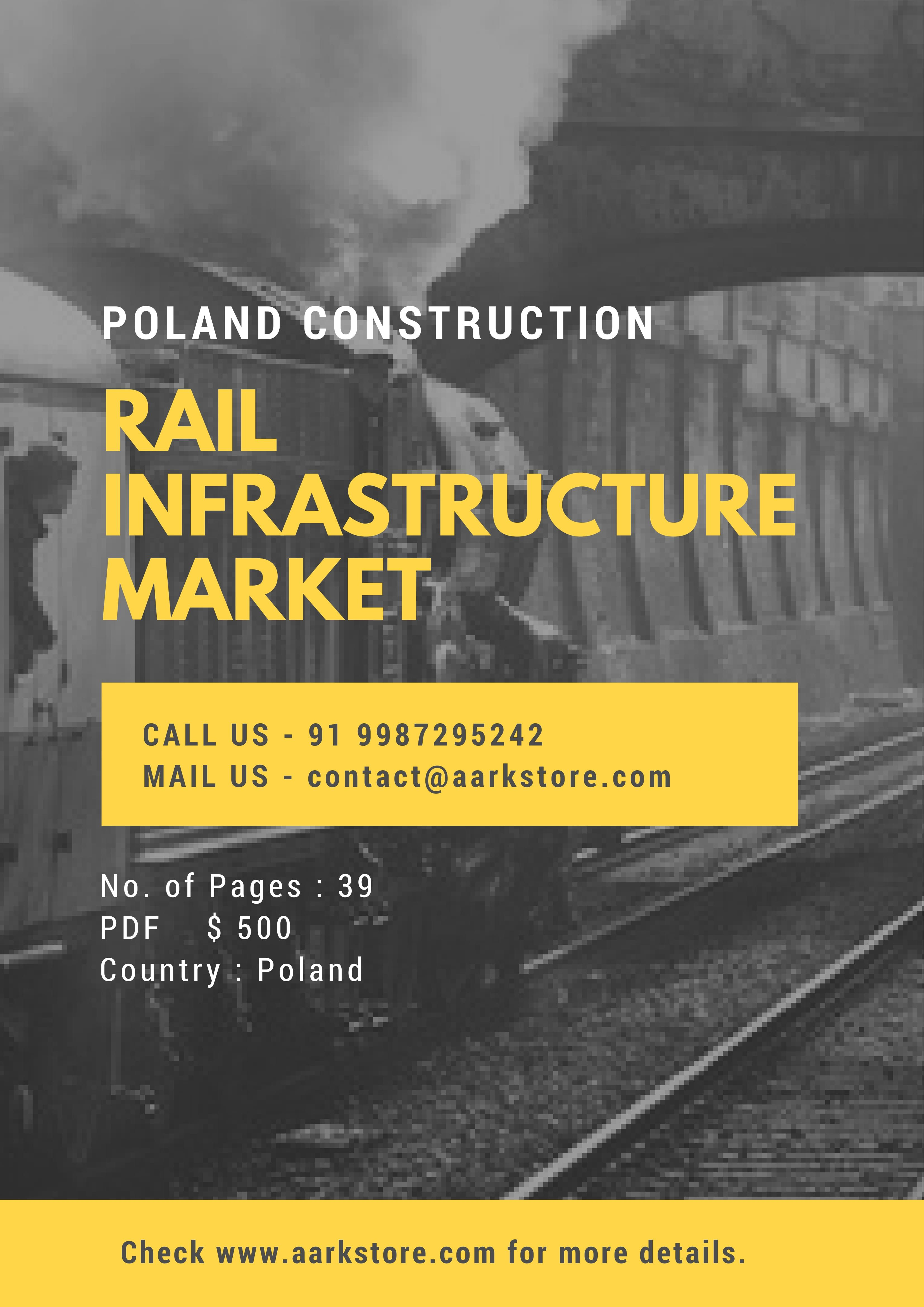 Poland Rail Infrastructure Market Forecast Contains Historic And Forecast Market Data For The Rail Infrastructure Categ With Images Marketing Marketing Data Infrastructure