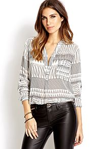 Dreamer Static Woven Top from Forever21 $19,80