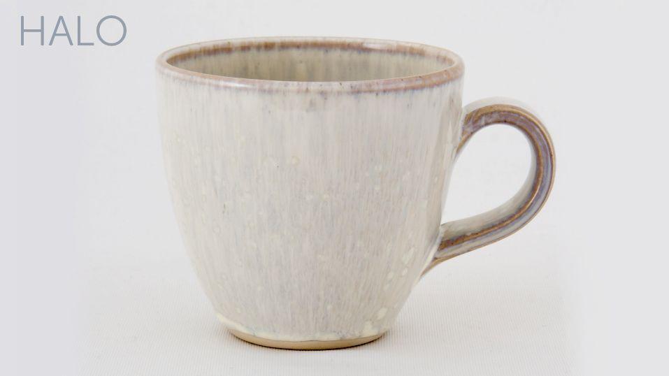 Handcrafted pottery Tavs Mug in Grayshott Pottery's Halo Range