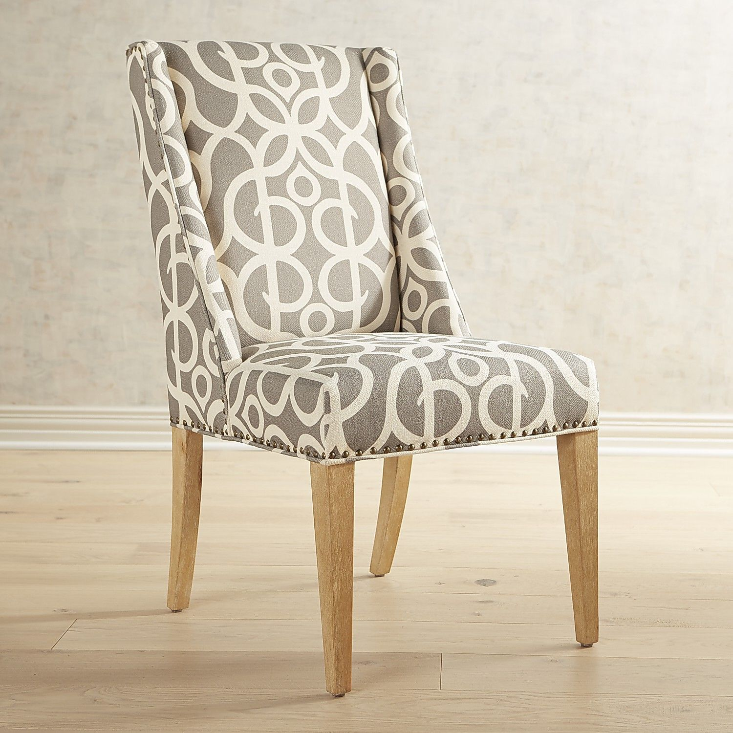 Owen Metro Dining Chair With Natural Whitewashed Wood