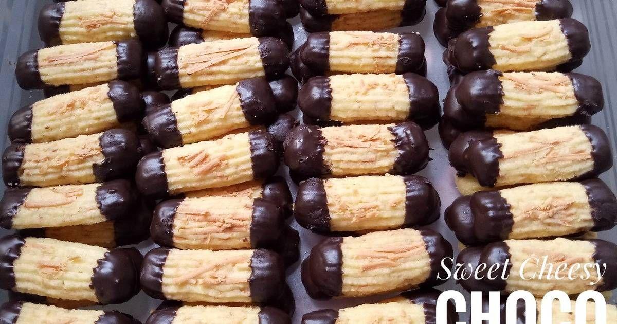Resep Sweet Cheesy Choco Cookies Oleh Maylisha Resep Resep Biskuit Kue Kering Mentega Kemasan Kue Kering