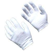Mens White 100 Cotton Lisle Inspection Disposable Gloves As Low As 0 24 Per Pair Saraglove Com Cotton Gloves Lisle Cotton Liner