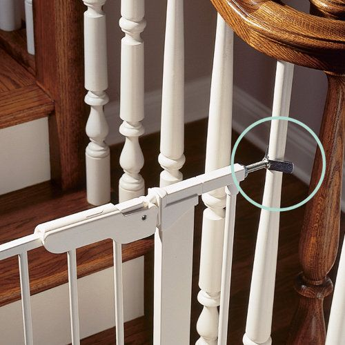 This Is The Answer To My Baby Gate Open Staircase Problem
