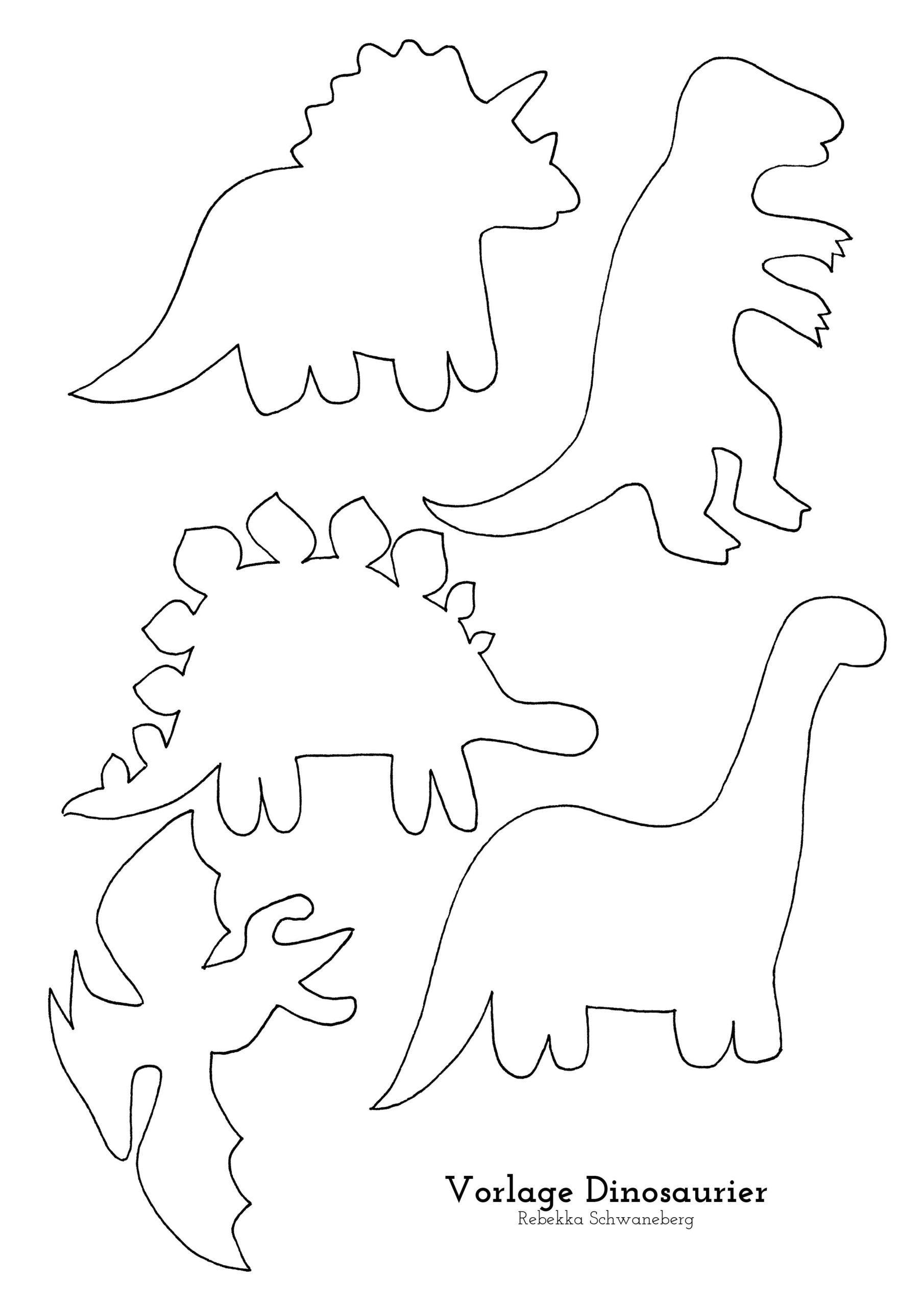Template Dinosaurier Kostenloser Download In 2020 Dinosaurier Geburtstag Kinder Dinosaurier Dinosaurier