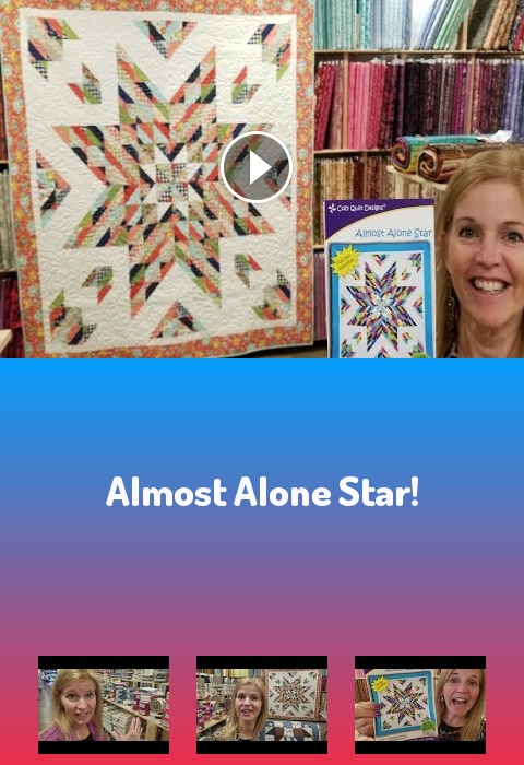 Almost Alone Star Henmachtgl Cosplay Embroidery Art Quilt Quilting Quilts 12 Block Log Cabin Fabric Fabrics Pre Cu Lone Star Quilt Quilt Stores Star Quilt