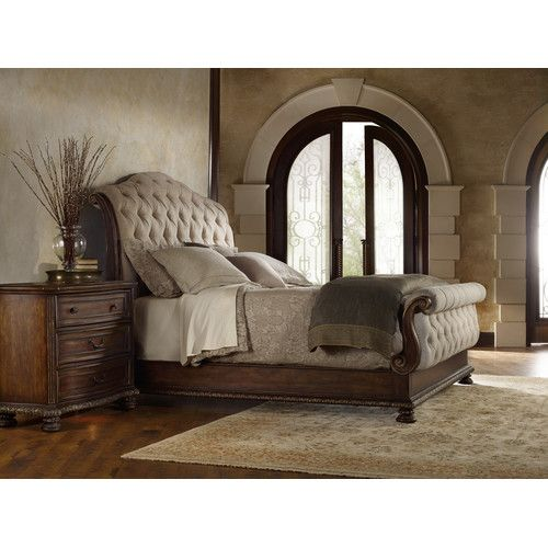 Found it at Wayfair - Adagio Upholstered Sleigh Bed