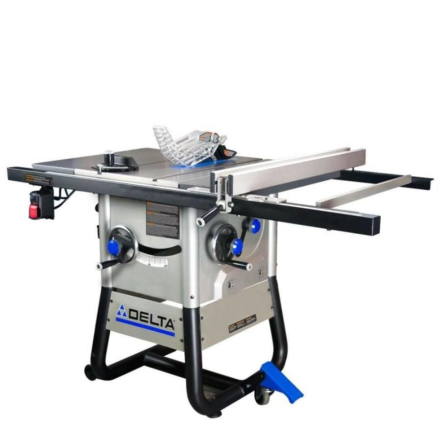 Delta 10 In Carbide Tipped Blade 13 Amp Table Saw In 2020 Delta Table Saw Contractor Table Saw Table Saw