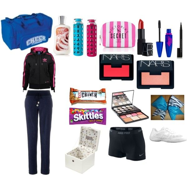 quot whats in my cheer bag quot by eaglin on polyvore