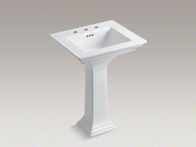 Kohler Memoirs Stately Pedestal Sinks Retails For 481 30 I Just