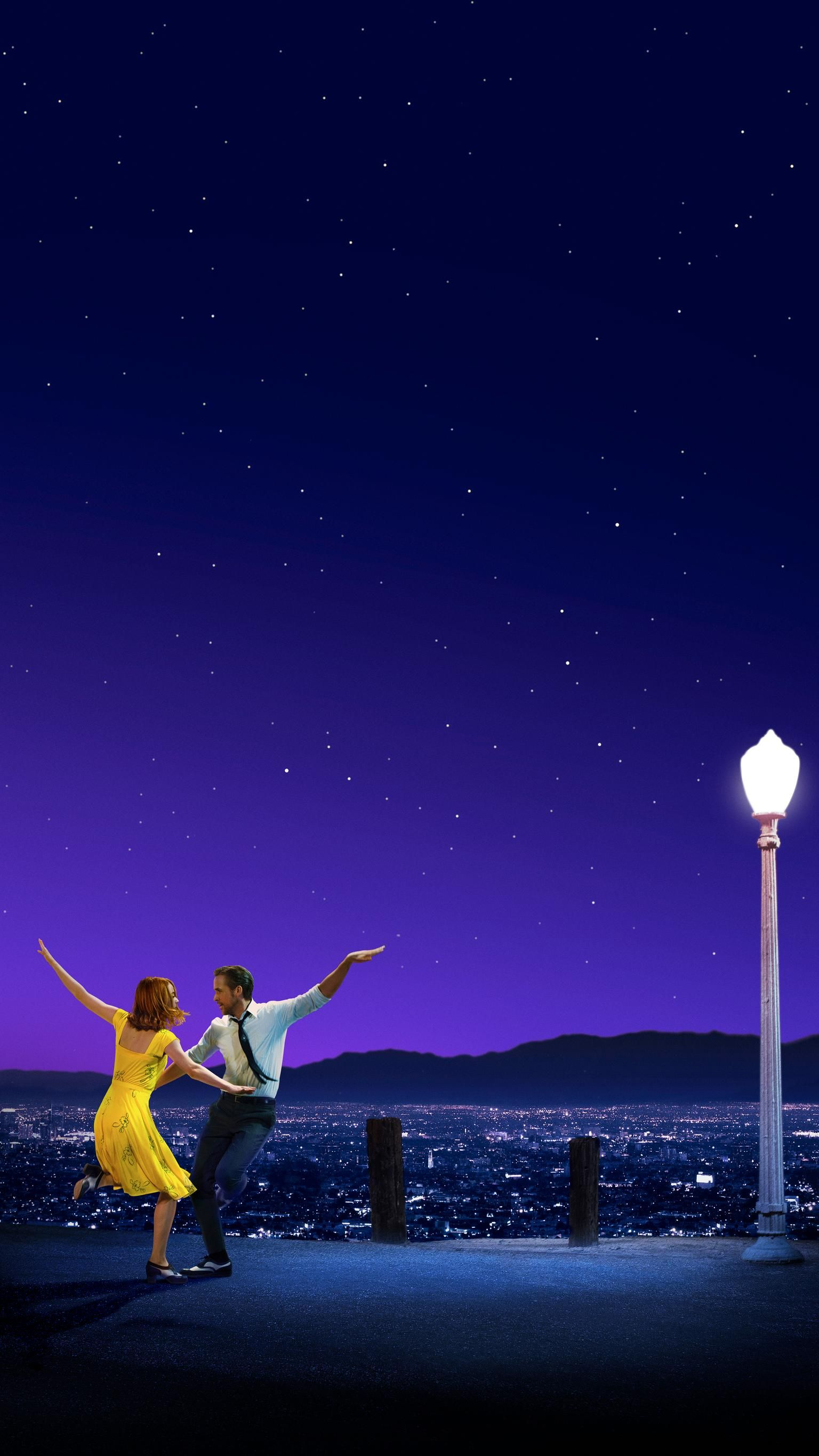 La La Land 16 Phone Wallpaper ララランド 映画 フライヤー 壁紙