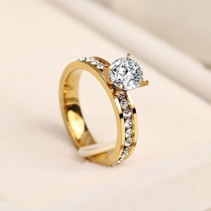 Online Sifarisler Qebul Olunur 7 24 Xidmetinizdeyik Kisi Ve Qadin Ucun Aksesuarlar Ozel Sifari Fashion Jewelry Wholesale Women Rings Stainless Steel Rings
