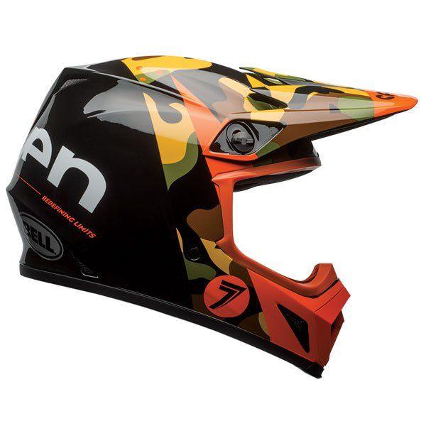 Bell Mx 9 Seven Soldier Helmet With Mips 2017 Coolest Motocross