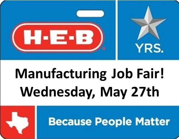 H E B Careers Fans Our Ice Cream Dairy Plants Are Hosting A Job Fair On Wednesday May 27th From 1 00pm To 4 00pm 5600 Business Texas Jobs Job Fair Career