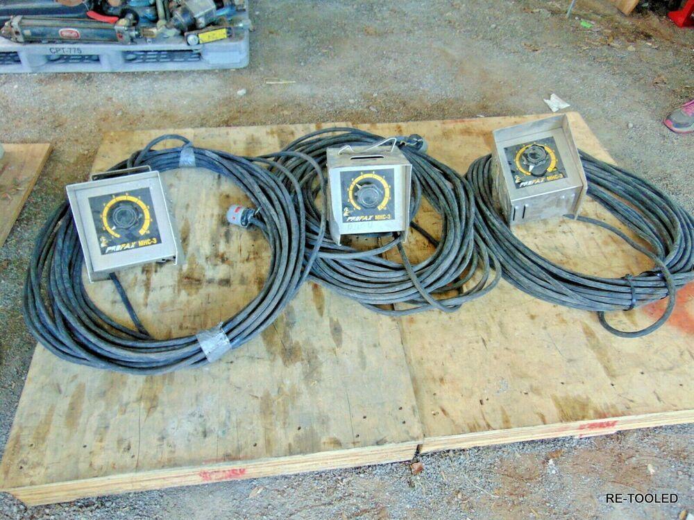 1 Profax Mhc 3 Welder Amperage Amp Electric Hand Remote Control Box 100 Cord Profax Remote Control Welders Remote