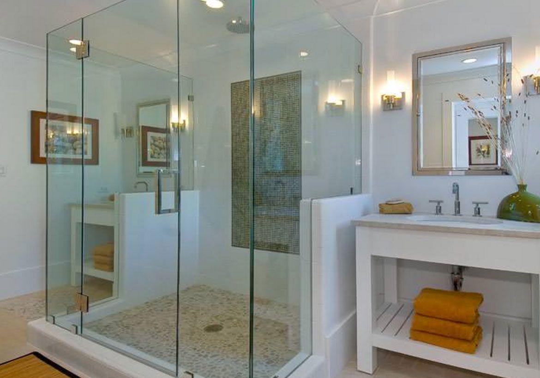37 Fantastic Frameless Glass Shower Door Ideas In 2020 Glazen