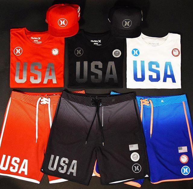 Introducing the  Hurley Phantom Team USA Collection d57f8a1b2d48