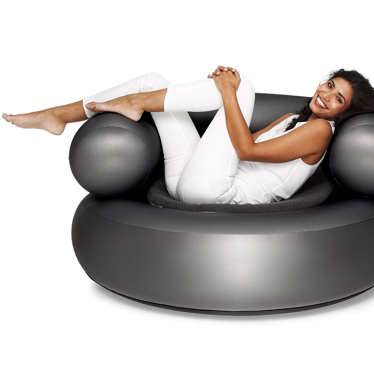 The Fatboy Ch Air Is An Inflatable Lounge Chair Lounge Cushions Modern Lounge Chairs Inflatable Sofa