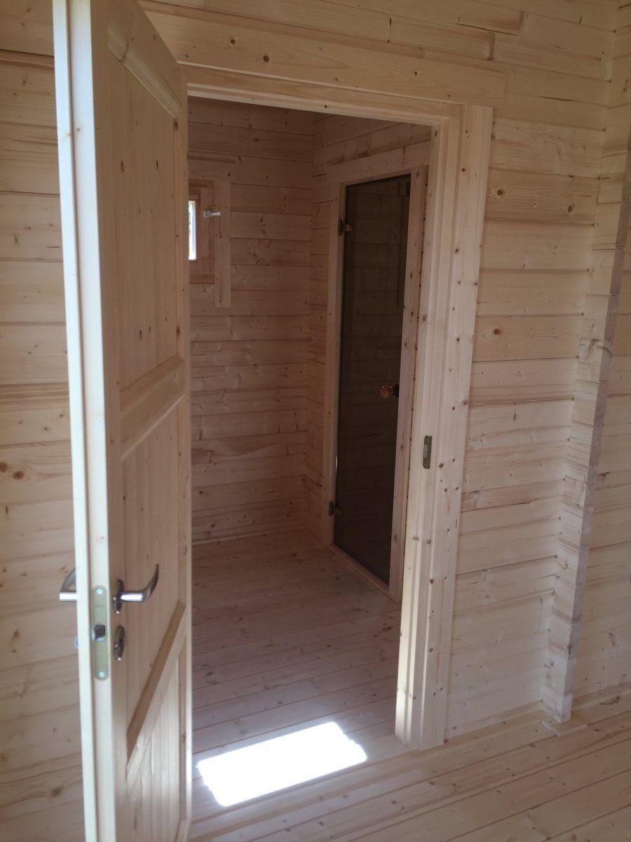 Sauna Im Gartenhaus Einbauen
