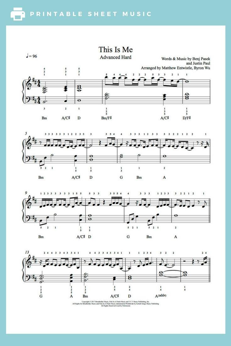 A Thousand Miles By Vanessa Carlton Piano Sheet Music Advanced