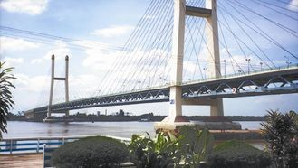 Cable-Stayed Bridge | China Suspension Deck Cable - Stayed Bridge / Steel Truss Bridge With ...