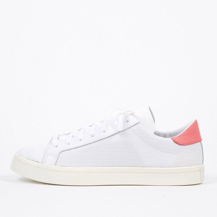 Adidas Court Vantage WhiteChalk Pink   S N E A K E R S