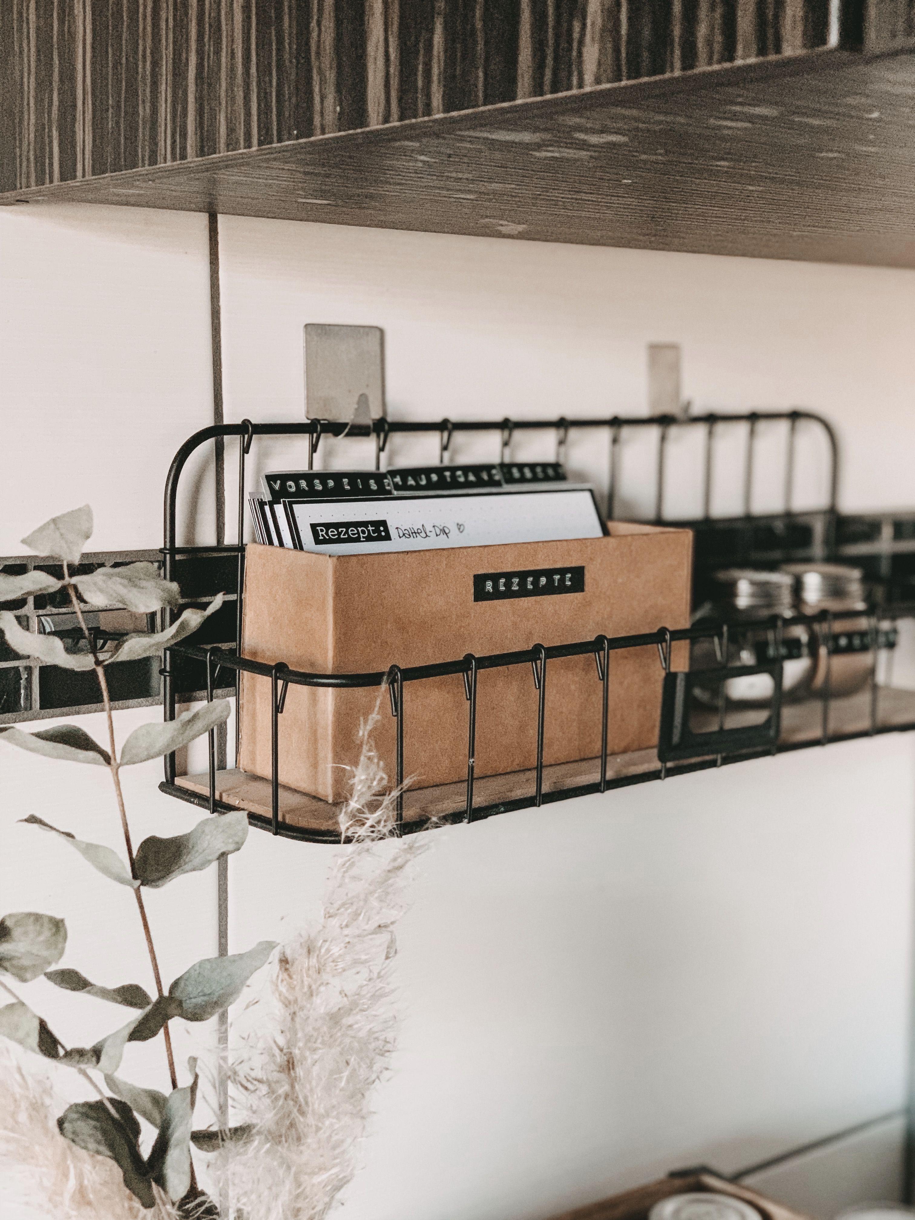DIY Rezeptbox - Was koche ich heute?