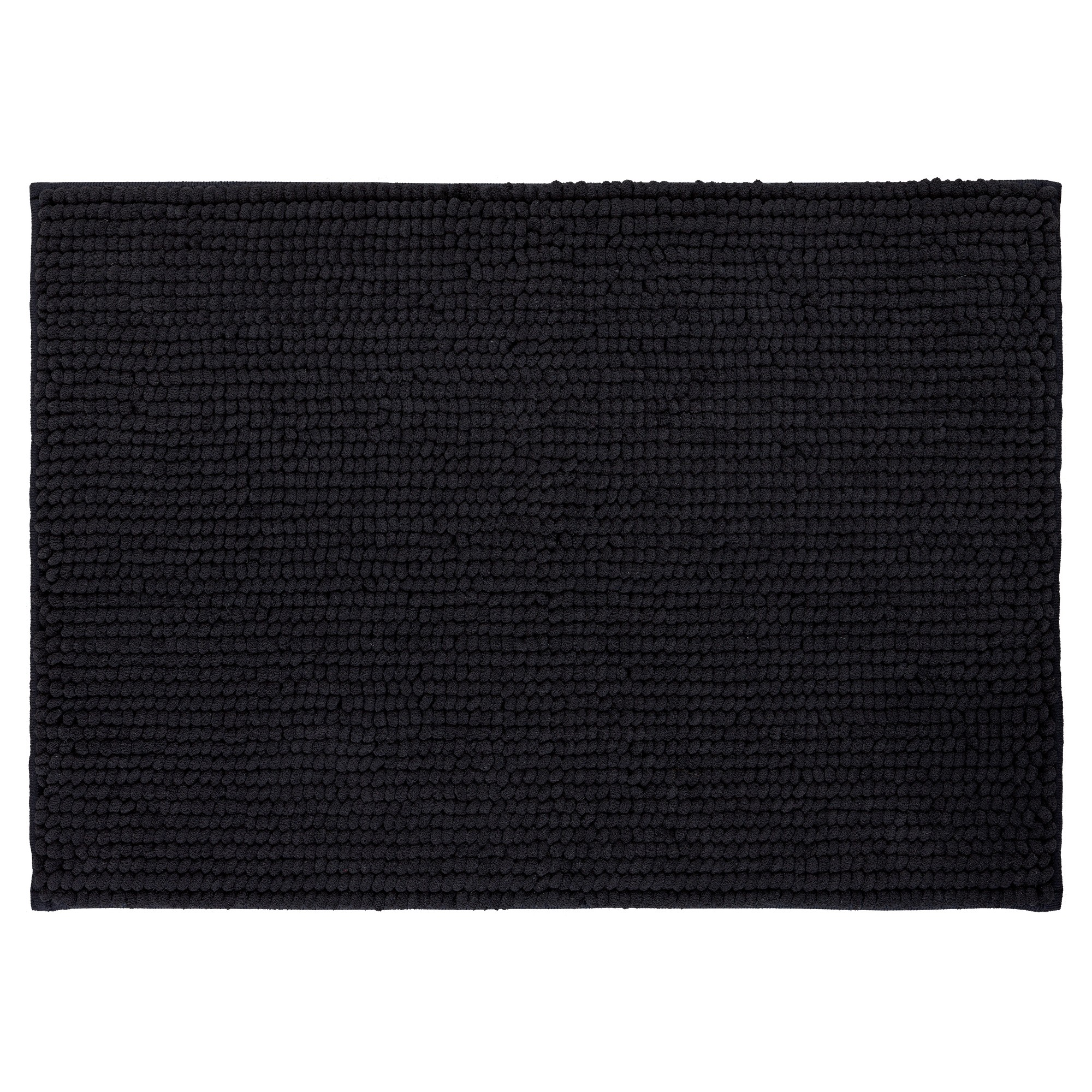 Looped Memory Foam Bath Mat Black 17 X24 Mohawk Home