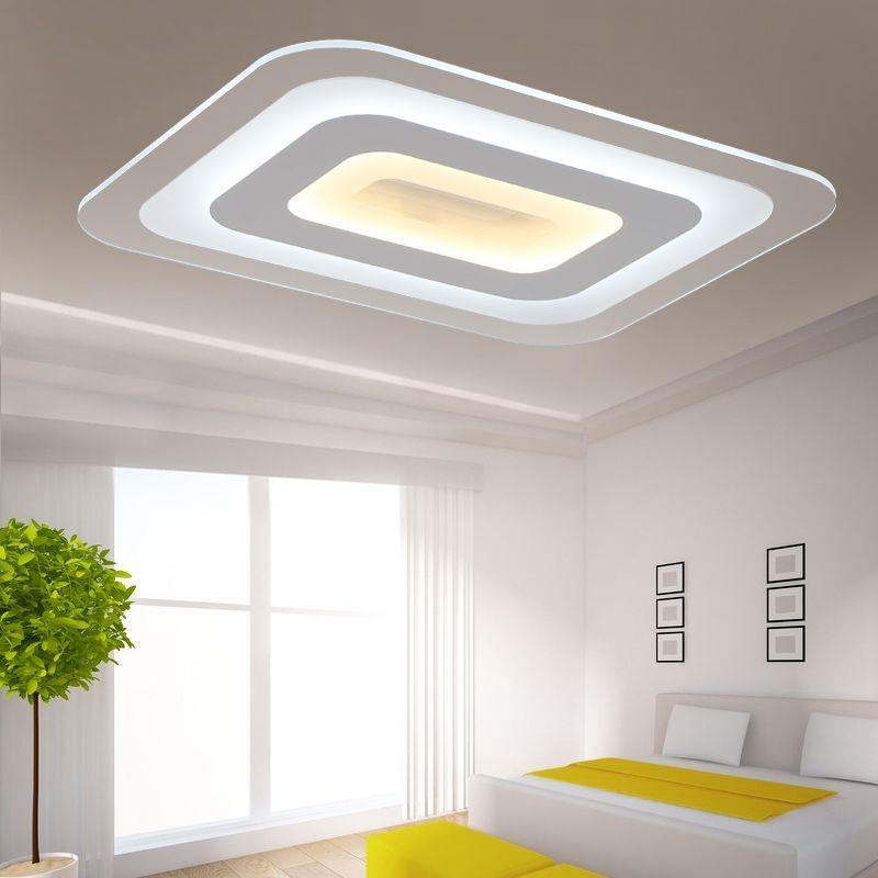 Slim Led Ceiling Lamp Bedroom Living Room Study Balcony Creative