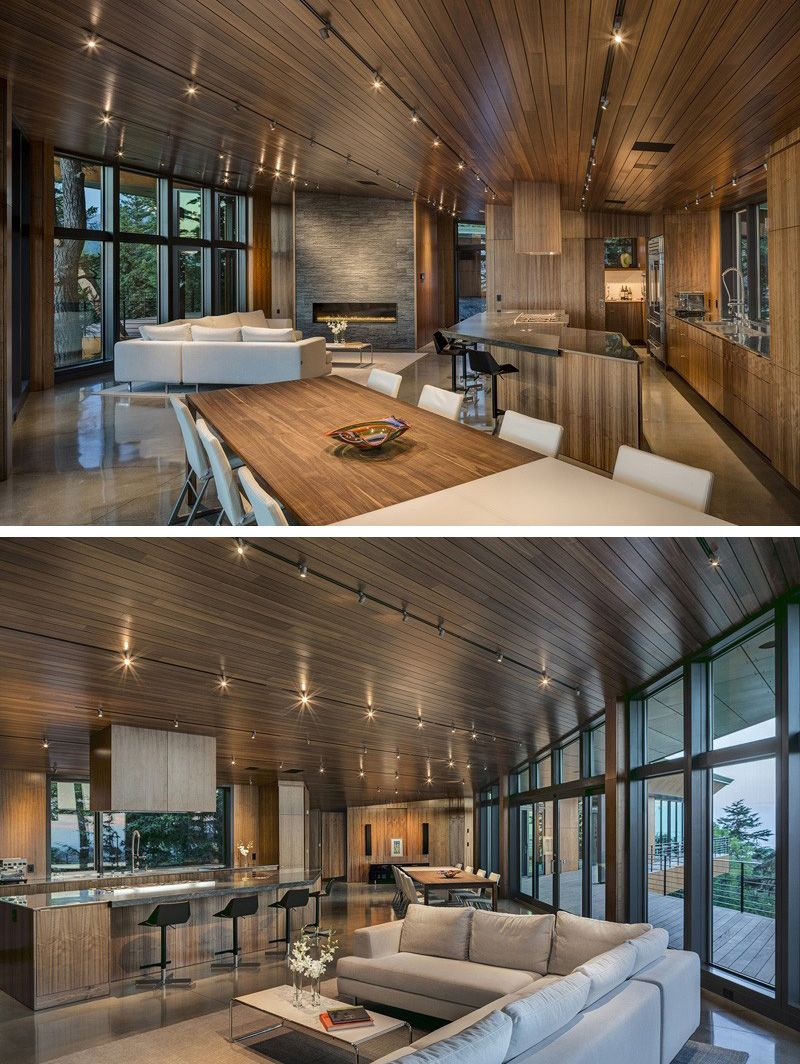 Architecture firm Workshop AD have designed the Golden View Residence in  Anchorage, Alaska.