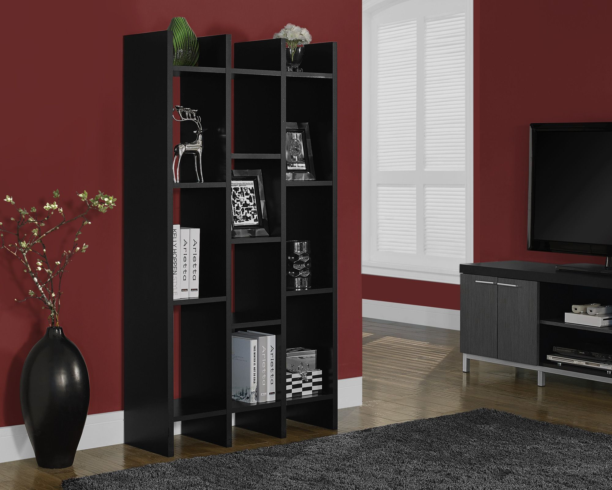 Etagere Otto Black Hollow Core 60